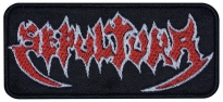 Sepultura music band big embroidered patch