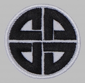 Viking Knot protection sign patch #2