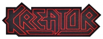 Kreator music band big embroidered patch