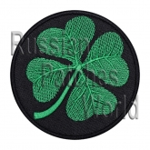 Сlover shamrock embroidery patch