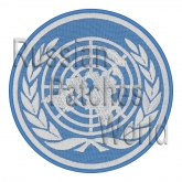 United Nations UN OON embroidered patch
