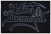 King Diamond music band embroidered patch