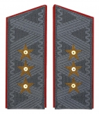 General-Colonel USSR Army uniform overcoat shoulder boards