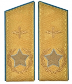 Soviet main marshal's air forces VVS USSR uniform parade shoulder boards replica
