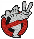 Ghostbusters embroidered patch #1