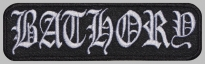 Bathory black metal thrash metal music band patch #2