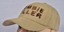 Zombie Killer Embroidered Logo Cap Beige