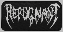 REPUGNANT thrash death metal embroidered patch #1
