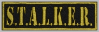 Stalker strip embroidered patch #1