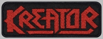 Kreator music band embroidered patch v4