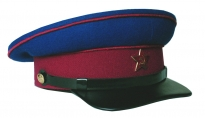 Soviet Army NKVD Uniform Visor Hat 1935-1953 Replica