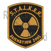 Stalker Neutrals faction embroidered patch engl #3