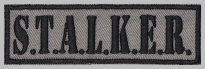 Stalker strip embroidered patch #7