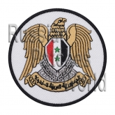 Sirya coat of arms Interkosmos embroidered patch