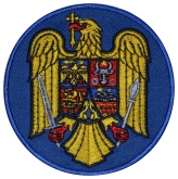 Crest of ROMANIA Embroidered Patch #2