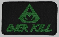 Overkill music band embroidered patch v2