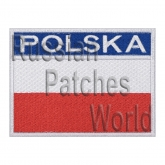 Poland Polska flag interkosmos space program patch