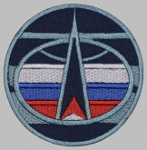 Space Troops Russia sign embroidered patch