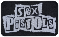Sex Pistols band music embroidered patch v3