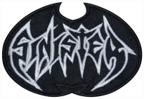 Sinister music band embroidered patch