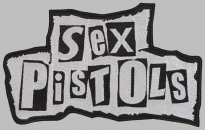 Sex Pistols music band big embroidered patch