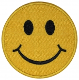 Smile Face embroidered patch #4