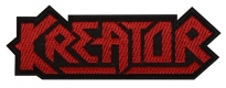 Kreator music band embroidered patch v3