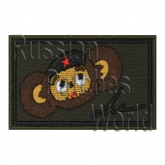 Cheburashka flag Airsoft embroidered patch