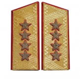 Soviet General's Army uniform shoulder boards USSR 1943-1974 replica