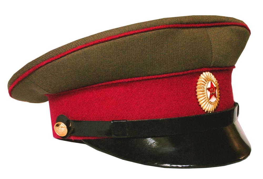 8e8922a66 Soviet Army Motorized Troops Officer Visor Hat 1958-69 Replica