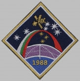 Soyuz TM-5 Soviet Space Programme Patch