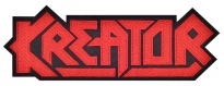 Kreator music band big embroidered patch v2