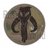 The Mandalorian Star Wars embroidered patch camo