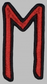 Ehwaz Elder Futhark Rune Germanic Alphabet Patch #1