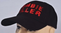 Zombie Killer Embroidered Logo Cap Black #2