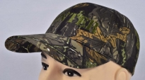 Hunter Dubok Print Camo Baseball Cap Machine Embroidered