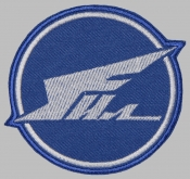 Ilyushin Aviation Complex Russian aircraft manufacturer patch Il Plane souvenir