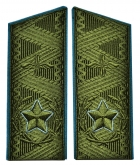 Soviet Main Marshal's aircraft USSR uniform shoulder boards