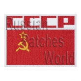 USSR flag space flights uniform sleeve patch v1