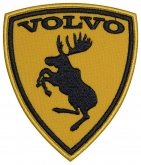 Volvo Moose sign embroidery patch