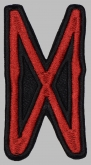 Dagaz Futhark Rune Germanic Alphabet Patch #1