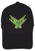 TOXIK music band black embroidered baseball cap