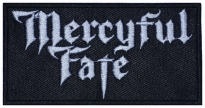 Mercyful Fate music band embroidered patch