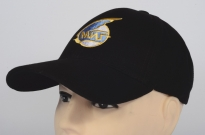 MIG Soviet Russian Jet Plane Fighter Embroidered Logo Cap Black