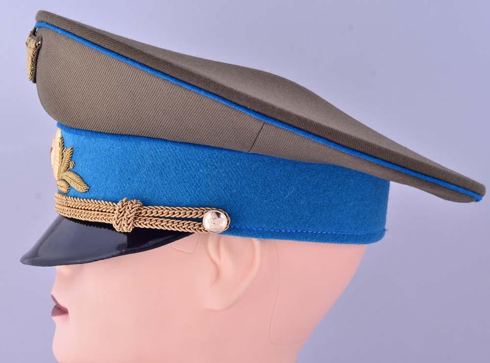 Soviet aviation general air forces daily uniform visor hat replica