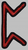 Perth futhark rune germanic alphabet patch #1
