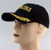 Ukraine flag Baseball Embroidered Cap Hat Black
