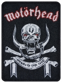 Motorhead music band embroidered patch v2