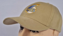 MIG Soviet Russian Jet Plane Fighter Embroidered Logo Cap Beige