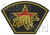 Russian spetsnaz uniform sleeve patch